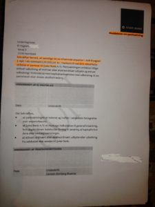 Jyske Bank ønsker at sikker sig alt det pant banken kan få. Her er bilag om pant af anparter i virksomheden der nu Sagsøger Jyske Bank. Bilaget er ikke på listen. over den pant Jyske bank har taget - Vi ved ikke om det er underskrævet da Jyske bank nægter at oplyse os om det / SÅDAN HANDLER JYSKE BANK
