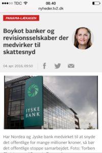 Jyske bank lund elmer sandager Anders Dam hvidvadkning skattesnyd