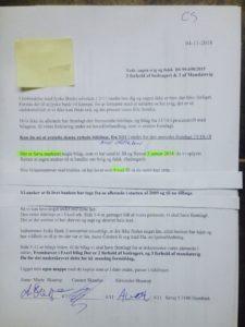 Hvem støtter og dækker over Jyske Banks bedrageri imod erhvervs kunde Kunden som i årevis har forsøgt at få udlevert alle bilag jyske bank måtte have. :-( :-( Der er ikke tivl om at jyske bank LYVER, og det er helt bevidst. Se hvad vi har af forhold imod banken for svindel på dette link, som er en del af det jyske bank snyder kunder med Udelukket for at kunne bedrage, og fortsætte bedrageri, en sag LUND ELMER SANDAGER ADVOKATER er dybt indvolveret i. https://facebook.com/carsten.storbjergskaarup/posts/10212864678591087?mds=%2Fedit%2Fpost%2Fdialog%2F%3Fcid%3DS%253A_I1213101334%253A10212864678591087%26ct%3D2%26nodeID%3Dm_story_permalink_view%26redir%3D%252Fstory_chevron_menu%252F%253Fis_menu_registered%253Dtrue%26perm%26loc%3Dpermalink&mdf=1&refid=17&ref=bookmarks - - Ville hellere lave noget mere morsomt, men det er jo en folk kriminelle bestyrelses medlemmer vi er oppe i mod, og de danner ramme for selve fundamentet i jyske bank. Og forståelsen af bankens vedtægter om at drive en redelig bankvirksomhed - Vedtægter § 1 Stk. 1: Bankens navn er Jyske Bank A/S. Stk. 4: Bankens formål er som bank og som moderselskab at drive bankvirksomhed efter lovgivningen Stk. 5: Banken drives i overensstemmelse med redelig forretningsskik, god bankpraksis og bankens værdier og holdninger - - Der er ikke tivl om at Nicolai Hansen erhvervs sælger i jyske bank 15-04-2009 er bevidst om at kunden ikke har optaget noget lån på 4.328.000 kr. I Nykredit - Nicolai Hansen og Casper Dam Olsen Jyske Banks super sælgere var i sagens start i jyske bank Helsingør De er nu flyttet til jyske bank Hillerød Slotsgade hvor banken har oprettet en erhvervs afdeling, som sælgerne fortsat kan give jyske bank rådgivning fra. - Men det med at starte en rentebytte af lån der ikke findes Det kan næppe være lovligt Alligevel starte jyske bank en renteswap 30-12-2008, med de dertil afledte betalinger Jyske bank beregner renter fra 30. December 2008, og hæve renter af dette påstået lån første gang juni 2009 - Nico