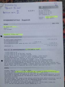 Bilag 110 og bilag 111 i sagen mod Jyske Bank Jyske bank, sammenblander konto og kredit til flere virksomheder taler om konto 5050 1354141 men klik på billeder, bilag 111 / Billed taler stadig om konto 5050 1354141 der er 2 virksomheder virksomhed, en der allerede har samme konto nummer, og en kredit. denne gæld kredit flytter Jysk bank uden nogle med kunder i de 2 virksomheder, så på et tidspunkt, mellem virksomhederne, ligner noget det lige har stået om jyske bank i avisen