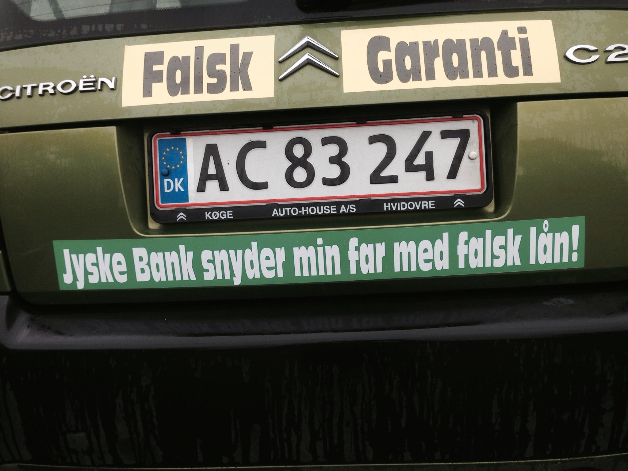 jyske bank billån