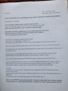 1. 12 feb. 2016 brev Rødstern advokater, Hej Mads bemærkninger til svarskrift 10 sep. 2015 side 1 af 4