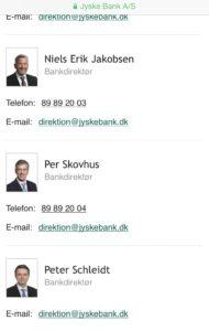 31 januar 2018 Mail til jyske Banks advokat Morten Ulrik Gade ///. Jyske Bank Kære advokat Morten Ulrik Gade. Orientering. Jeg har forstået at Jyske bank vil ikke svare mig og du behøve derfor ikke besvare denne orientering. Jeg gætter at svaret vil være som tidligere. Dit brev ses ikke at indeholde noget nyt, jyske bank har ikke yderligere bemærkninger, og henviser til tidligere breve. Så er dette brev jo besvaret på forhånd. Har du rettelser er de velkommen. :-) Jeg er igår 30 januar ved mail blevet opfordret af Thomas S Sørensen til At min kommende advokat tager kontakt til jyske bank og dennes advokat. Således sagen kan fremlægges procesiolt over for retten. Med Indeholdende de anbringer som er fremsendt til rødstenen advokater. Hvor de først er kommet til jyske Banks kendskab 28-12-2017 :-) Således kontakt med mig i sagen ikke behøves, da jyske bank nægter mig denne mulighed for dialog. Jeg skal beklager at have ulejliget jyske bank, og forsøgt at få svar på, de bilag som har været tilbageholdt eller syntes være skrevet med usandt indehold. :-) Og beklager naturligvis at jeg har forsøgt at få jyske bank til at hjælpe mig, med at opklare om jeg er udsat for usandheder i jyske Bank. Usandheder som har til hensigt at få mig villedt mig til at tro. at jeg har optaget et lån på 4.328.000 kr. I Nykredit efter tilbud 20. Maj 2008 Tilbudet 20 maj 2008 er givet efter budgettet som er genudskrevet 4 oktober 2008. Budgettet er afleveret til ( NH ) for godkendelse. Efter tilbud forud for tilbudet på 4.328.000 kr. Nykredit Budget Vedr. Tilbud 20 maj 2008 Er for 1 bygning af 678 m2 På grund 1.599 m2. på del udstykning af matr. 1.ar efter forslag 6 juni 2006 Budget er indeholdt seneste tilbud 2.403.496 kr. Er fra tilbudet 21 april. 2008 Dette tilbud er givet (Efter tegning fra et tidligere tilbud fra 22 november 2007) alt er afleveret til NH For budgettet til brug for tilbudet på 4.328.000 kr Grunden er ikke udstykket Bygning er ikke opført Låne tilbudet er ikke optaget Efter