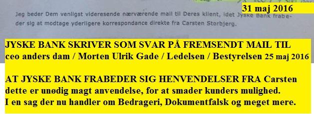 Stol på en svindler – NYADVOKAT.DK Jyske Bank stævnet om SVIG & FALSK i omfattende sag om Jyske ...