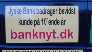 IMG_20180602_215931988 / JYSKE BANKs SVINDEL / FRAUD - CALL / OPRÅB :-) Can the bank director CEO Anders Dam not understand We only want to talk with the bank, JYSKE BANK And find a solution, so we can get our life back We are talking about The last 10 years, the bank provisionally has deceived us. The Danish bank took 10 years from us. :-) Please talk to us #AndersChristianDam Rather than continue deceive us With a false interest rate swap, for a loan that has not never existed We write, and write, and write, while the bank continues the very deliberate fraud which the entire Group Board is aware of. :-) :-) A case that is so inflamed, that not even the Danish press does dare comment on it. do you think that there is something about what we are writing about. Would you ask the bank management Jyske Bank Link to the bank further down Why they will not answer their customer And deliver a copy of the loan, 4.328.000 DKK as the bank claiming the customer has borrowed i Nykredit As the Danish Bank changes interest rates, for the last 10 years, Actually since January 1, 2009 - Now the customer discovered and informed the Jyske Bank Jyske 3-bold Bank May 2016 that there was no loan taken. We are talking about fraud for millions, against just one customer :-) :-) Where do you come into contact with a fraudster who just does not want to stop deceiving you Have tried for over 2 years. DO YOU HAVE A SUGGESTION :-) from www.banknyt.dk Startede i jyske bank Helsingør I.L Tvedes Vej 7. 3000 Helsingør Dagblad Godt hjulpet af jyske bank medlemmer eller ansatte på Vesterbro, Vesterbrogade 9. Men godt assisteret af jyske bank hoved kontor i Silkeborg Vestergade Hvor koncern ledelsen / bestyrelsen ved Anders Christian Dam nu hjælper til med at dette svindel fortsætter Jyske Banks advokater som lyver for retten Tilbød 2-11-2016 forligs møde Men med den agenda at ville lave en rente bytte på et andet lån, for at sløre svindlen. ------------ Journalist Press just ask Danish Bank Jyske b