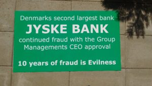 IMG_20180711_153712005 / JYSKE BANKs SVINDEL / FRAUD - CALL / OPRÅB :-) Can the bank director CEO Anders Dam not understand We only want to talk with the bank, JYSKE BANK And find a solution, so we can get our life back We are talking about The last 10 years, the bank provisionally has deceived us. The Danish bank took 10 years from us. :-) Please talk to us #AndersChristianDam Rather than continue deceive us With a false interest rate swap, for a loan that has not never existed We write, and write, and write, while the bank continues the very deliberate fraud which the entire Group Board is aware of. :-) :-) A case that is so inflamed, that not even the Danish press does dare comment on it. do you think that there is something about what we are writing about. Would you ask the bank management Jyske Bank Link to the bank further down Why they will not answer their customer And deliver a copy of the loan, 4.328.000 DKK as the bank claiming the customer has borrowed i Nykredit As the Danish Bank changes interest rates, for the last 10 years, Actually since January 1, 2009 - Now the customer discovered and informed the Jyske Bank Jyske 3-bold Bank May 2016 that there was no loan taken. We are talking about fraud for millions, against just one customer :-) :-) Where do you come into contact with a fraudster who just does not want to stop deceiving you Have tried for over 2 years. DO YOU HAVE A SUGGESTION :-) from www.banknyt.dk Startede i jyske bank Helsingør I.L Tvedes Vej 7. 3000 Helsingør Dagblad Godt hjulpet af jyske bank medlemmer eller ansatte på Vesterbro, Vesterbrogade 9. Men godt assisteret af jyske bank hoved kontor i Silkeborg Vestergade Hvor koncern ledelsen / bestyrelsen ved Anders Christian Dam nu hjælper til med at dette svindel fortsætter Jyske Banks advokater som lyver for retten Tilbød 2-11-2016 forligs møde Men med den agenda at ville lave en rente bytte på et andet lån, for at sløre svindlen. ------------ Journalist Press just ask Danish Bank Jyske bank why the bank does not admit fraud And start to apologize all crimes. https://www.jyskebank.dk/kontakt/afdelingsinfo?departmentid=11660 :-) #Journalist #Press When the Danish banks deceive their customers a case of fraud in Danish banks against customers :-( :-( when the #danish #banks as #jyskebank are making fraud And the gang leader, controls the bank's fraud. :-( Anders Dam Bank's CEO refuses to quit. So it only shows how criminal the Danish jyske bank is. :-) Do not trust the #JyskeBank they are #lying constantly, when the bank cheats you The fraud that is #organized through by 3 departments, and many members of the organization JYSKE BANK :-( The Danish bank jyske bank is a criminal offense, Follow the case in Danish law BS 99-698/2015 :-) :-) Thanks to all of you we meet on the road. Which gives us your full support to the fight against the Danish fraud bank. JYSKE BANK :-) :-) Please ask the bank, jyske bank if we have raised a loan of DKK 4.328.000 In Danish bank nykredit. as the bank writes to their customer who is ill after a brain bleeding - As the bank is facing Danish courts and claim is a loan behind the interest rate swap The swsp Jyske Bank itself made 16-07-2008 https://facebook.com/JyskeBank.dk/photos/a.1468232419878888.1073741869.1045397795495688/1468234663211997/?type=3&source=54&ref=page_internal :-( contact the bank here https://www.jyskebank.dk/omjyskebank/organisation/koncernledergruppe - Also ask about date and evidence that the loan offer has been withdrawn in due time before expiry :-) :-) And ask for the prompt contact to Nykredit Denmark And ask why (new credit bank) Nykredit, first would answer the question, after nykredit received a subpoena, to speak true. - Even at a meeting Nykredit refused to sign anything. Not to provide evidence against Jyske Bank for fraud - But after several letters admit Nykredit Bank on writing - There is no loan of 4.328.000 kr https://facebook.com/JyskeBank.dk/photos/a.1051107938258007.1073741840.1045397795495688/1344678722234259/?type=3&source=54&ref=page_internal :-( :-( So nothing to change interest rates https://facebook.com/JyskeBank.dk/photos/a.1045554925479975.1073741831.1045397795495688/1045554998813301/?type=3&source=54&ref=page_internal Thus admit Nykredit Bank that their friends in Jyske Bank are making fraud against Danish customers :-( :-( :-( Today June 29th claims Jyske Bank that a loan of DKK 4.328.000 Has been reduced to DKK 2.927.634 and raised interest rates DKK 81.182 https://facebook.com/JyskeBank.dk/photos/a.1046306905404777.1073741835.1045397795495688/1755579747810819/?type=3&source=54 :-) :-) Group management jyske bank know, at least since May 2016 There is no loan of 4.328.000 DKK And that has never existed. And the ceo is conscious about the fraud against the bank's customer :-) Nevertheless, the bank continues the fraud But now with the Group's Board of Directors knowledge and approval :-) The bank will not respond to anything Do you want to investigate the fraud case as a journalist? :-( :-( Fraud that the bank jyske bank has committed, over the past 10 years. :-) :-) https://facebook.com/story.php?story_fbid=10217380674608165&id=1213101334&ref=bookmarks Will make it better, when we share timeline, with link to Appendix :-) www.banknyt.dk /-----------/ #ANDERSDAM I SPIDSEN AF DEN STORE DANSKE NOK SMÅ #KRIMINELLE #BANK #JYSKEBANK Godt hjulpet af #Les www.les.dk #LundElmerSandager #Advokater :-) #JYSKE BANK BLEV OPDAGET / TAGET I AT LAVE #MANDATSVIG #BEDRAGERI #DOKUMENTFALSK #UDNYTTELSE #SVIG #FALSK :-) Banken skriver i fundamentet at jyskebank er #TROVÆRDIG #HÆDERLIG #ÆRLIG DET ER DET VI SKAL OPKLARE I DENNE HER SAG. :-) Offer spørger flere gange om jyske bank har nogle kommentar eller rettelser til www.banknyt.dk og opslag Jyske bank svare slet ikke :-) :-) We are still talking about 10 years of fraud Follow the case in Danish court Denmark Viborg BS 99-698/2015 :-) :-) Link to the bank's management jyske bank ask them please If we have borrowed DKK 4.328.000 as offered on May 20, 2008 in Nykredit The bank still take interest on this alleged loan in the 10th year. and refuses to answer anything :-) :-) Funny enough for all that loan is not existing just ask jyske bank why the bank does not admit fraud And start to apologize all crimes. https://www.jyskebank.dk/kontakt/afdelingsinfo?departmentid=11660 #Bank #AnderChristianDam #Financial #News #Press #Share #Pol #Recommendation #Sale #Firesale #AndersDam #JyskeBank #ATP #PFA #MortenUlrikGade #PhilipBaruch #LES #GF #BirgitBushThuesen #LundElmerSandager #Nykredit #MetteEgholmNielsen #Loan #Fraud #CasperDamOlsen #NicolaiHansen #gangcrimes #crimes :-) just ask jyske bank why the bank does not admit fraud And start to apologize all crimes. https://www.jyskebank.dk/kontakt/afdelingsinfo?departmentid=11660 #Koncernledelse #jyskebank #Koncernbestyrelsen #SvenBuhrkall #KurtBligaardPedersen #RinaAsmussen #PhilipBaruch #JensABorup #KeldNorup #ChristinaLykkeMunk #HaggaiKunisch #MarianneLillevang #Koncerndirektionen #AndersDam #LeifFLarsen #NielsErikJakobsen #PerSkovhus #PeterSchleidt