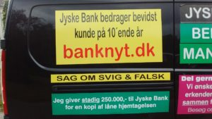 IMG_20180711_161803477 / JYSKE BANKs SVINDEL / FRAUD - CALL / OPRÅB :-) Can the bank director CEO Anders Dam not understand We only want to talk with the bank, JYSKE BANK And find a solution, so we can get our life back We are talking about The last 10 years, the bank provisionally has deceived us. The Danish bank took 10 years from us. :-) Please talk to us #AndersChristianDam Rather than continue deceive us With a false interest rate swap, for a loan that has not never existed We write, and write, and write, while the bank continues the very deliberate fraud which the entire Group Board is aware of. :-) :-) A case that is so inflamed, that not even the Danish press does dare comment on it. do you think that there is something about what we are writing about. Would you ask the bank management Jyske Bank Link to the bank further down Why they will not answer their customer And deliver a copy of the loan, 4.328.000 DKK as the bank claiming the customer has borrowed i Nykredit As the Danish Bank changes interest rates, for the last 10 years, Actually since January 1, 2009 - Now the customer discovered and informed the Jyske Bank Jyske 3-bold Bank May 2016 that there was no loan taken. We are talking about fraud for millions, against just one customer :-) :-) Where do you come into contact with a fraudster who just does not want to stop deceiving you Have tried for over 2 years. DO YOU HAVE A SUGGESTION :-) from www.banknyt.dk Startede i jyske bank Helsingør I.L Tvedes Vej 7. 3000 Helsingør Dagblad Godt hjulpet af jyske bank medlemmer eller ansatte på Vesterbro, Vesterbrogade 9. Men godt assisteret af jyske bank hoved kontor i Silkeborg Vestergade Hvor koncern ledelsen / bestyrelsen ved Anders Christian Dam nu hjælper til med at dette svindel fortsætter Jyske Banks advokater som lyver for retten Tilbød 2-11-2016 forligs møde Men med den agenda at ville lave en rente bytte på et andet lån, for at sløre svindlen. ------------ Journalist Press just ask Danish Bank Jyske b