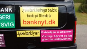 IMG_20180711_161823796 / JYSKE BANKs SVINDEL / FRAUD - CALL / OPRÅB :-) Can the bank director CEO Anders Dam not understand We only want to talk with the bank, JYSKE BANK And find a solution, so we can get our life back We are talking about The last 10 years, the bank provisionally has deceived us. The Danish bank took 10 years from us. :-) Please talk to us #AndersChristianDam Rather than continue deceive us With a false interest rate swap, for a loan that has not never existed We write, and write, and write, while the bank continues the very deliberate fraud which the entire Group Board is aware of. :-) :-) A case that is so inflamed, that not even the Danish press does dare comment on it. do you think that there is something about what we are writing about. Would you ask the bank management Jyske Bank Link to the bank further down Why they will not answer their customer And deliver a copy of the loan, 4.328.000 DKK as the bank claiming the customer has borrowed i Nykredit As the Danish Bank changes interest rates, for the last 10 years, Actually since January 1, 2009 - Now the customer discovered and informed the Jyske Bank Jyske 3-bold Bank May 2016 that there was no loan taken. We are talking about fraud for millions, against just one customer :-) :-) Where do you come into contact with a fraudster who just does not want to stop deceiving you Have tried for over 2 years. DO YOU HAVE A SUGGESTION :-) from www.banknyt.dk Startede i jyske bank Helsingør I.L Tvedes Vej 7. 3000 Helsingør Dagblad Godt hjulpet af jyske bank medlemmer eller ansatte på Vesterbro, Vesterbrogade 9. Men godt assisteret af jyske bank hoved kontor i Silkeborg Vestergade Hvor koncern ledelsen / bestyrelsen ved Anders Christian Dam nu hjælper til med at dette svindel fortsætter Jyske Banks advokater som lyver for retten Tilbød 2-11-2016 forligs møde Men med den agenda at ville lave en rente bytte på et andet lån, for at sløre svindlen. ------------ Journalist Press just ask Danish Bank Jyske b