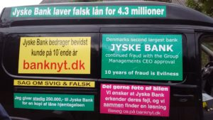 IMG_20180711_163835865 / JYSKE BANKs SVINDEL / FRAUD - CALL / OPRÅB :-) Can the bank director CEO Anders Dam not understand We only want to talk with the bank, JYSKE BANK And find a solution, so we can get our life back We are talking about The last 10 years, the bank provisionally has deceived us. The Danish bank took 10 years from us. :-) Please talk to us #AndersChristianDam Rather than continue deceive us With a false interest rate swap, for a loan that has not never existed We write, and write, and write, while the bank continues the very deliberate fraud which the entire Group Board is aware of. :-) :-) A case that is so inflamed, that not even the Danish press does dare comment on it. do you think that there is something about what we are writing about. Would you ask the bank management Jyske Bank Link to the bank further down Why they will not answer their customer And deliver a copy of the loan, 4.328.000 DKK as the bank claiming the customer has borrowed i Nykredit As the Danish Bank changes interest rates, for the last 10 years, Actually since January 1, 2009 - Now the customer discovered and informed the Jyske Bank Jyske 3-bold Bank May 2016 that there was no loan taken. We are talking about fraud for millions, against just one customer :-) :-) Where do you come into contact with a fraudster who just does not want to stop deceiving you Have tried for over 2 years. DO YOU HAVE A SUGGESTION :-) from www.banknyt.dk Startede i jyske bank Helsingør I.L Tvedes Vej 7. 3000 Helsingør Dagblad Godt hjulpet af jyske bank medlemmer eller ansatte på Vesterbro, Vesterbrogade 9. Men godt assisteret af jyske bank hoved kontor i Silkeborg Vestergade Hvor koncern ledelsen / bestyrelsen ved Anders Christian Dam nu hjælper til med at dette svindel fortsætter Jyske Banks advokater som lyver for retten Tilbød 2-11-2016 forligs møde Men med den agenda at ville lave en rente bytte på et andet lån, for at sløre svindlen. ------------ Journalist Press just ask Danish Bank Jyske b