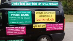 IMG_20180711_165127117 / JYSKE BANKs SVINDEL / FRAUD - CALL / OPRÅB :-) Can the bank director CEO Anders Dam not understand We only want to talk with the bank, JYSKE BANK And find a solution, so we can get our life back We are talking about The last 10 years, the bank provisionally has deceived us. The Danish bank took 10 years from us. :-) Please talk to us #AndersChristianDam Rather than continue deceive us With a false interest rate swap, for a loan that has not never existed We write, and write, and write, while the bank continues the very deliberate fraud which the entire Group Board is aware of. :-) :-) A case that is so inflamed, that not even the Danish press does dare comment on it. do you think that there is something about what we are writing about. Would you ask the bank management Jyske Bank Link to the bank further down Why they will not answer their customer And deliver a copy of the loan, 4.328.000 DKK as the bank claiming the customer has borrowed i Nykredit As the Danish Bank changes interest rates, for the last 10 years, Actually since January 1, 2009 - Now the customer discovered and informed the Jyske Bank Jyske 3-bold Bank May 2016 that there was no loan taken. We are talking about fraud for millions, against just one customer :-) :-) Where do you come into contact with a fraudster who just does not want to stop deceiving you Have tried for over 2 years. DO YOU HAVE A SUGGESTION :-) from www.banknyt.dk Startede i jyske bank Helsingør I.L Tvedes Vej 7. 3000 Helsingør Dagblad Godt hjulpet af jyske bank medlemmer eller ansatte på Vesterbro, Vesterbrogade 9. Men godt assisteret af jyske bank hoved kontor i Silkeborg Vestergade Hvor koncern ledelsen / bestyrelsen ved Anders Christian Dam nu hjælper til med at dette svindel fortsætter Jyske Banks advokater som lyver for retten Tilbød 2-11-2016 forligs møde Men med den agenda at ville lave en rente bytte på et andet lån, for at sløre svindlen. ------------ Journalist Press just ask Danish Bank Jyske b