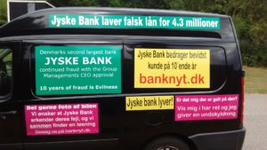 IMG_20180711_165133131 / JYSKE BANKs SVINDEL / FRAUD - CALL / OPRÅB :-) Can the bank director CEO Anders Dam not understand We only want to talk with the bank, JYSKE BANK And find a solution, so we can get our life back We are talking about The last 10 years, the bank provisionally has deceived us. The Danish bank took 10 years from us. :-) Please talk to us #AndersChristianDam Rather than continue deceive us With a false interest rate swap, for a loan that has not never existed We write, and write, and write, while the bank continues the very deliberate fraud which the entire Group Board is aware of. :-) :-) A case that is so inflamed, that not even the Danish press does dare comment on it. do you think that there is something about what we are writing about. Would you ask the bank management Jyske Bank Link to the bank further down Why they will not answer their customer And deliver a copy of the loan, 4.328.000 DKK as the bank claiming the customer has borrowed i Nykredit As the Danish Bank changes interest rates, for the last 10 years, Actually since January 1, 2009 - Now the customer discovered and informed the Jyske Bank Jyske 3-bold Bank May 2016 that there was no loan taken. We are talking about fraud for millions, against just one customer :-) :-) Where do you come into contact with a fraudster who just does not want to stop deceiving you Have tried for over 2 years. DO YOU HAVE A SUGGESTION :-) from www.banknyt.dk Startede i jyske bank Helsingør I.L Tvedes Vej 7. 3000 Helsingør Dagblad Godt hjulpet af jyske bank medlemmer eller ansatte på Vesterbro, Vesterbrogade 9. Men godt assisteret af jyske bank hoved kontor i Silkeborg Vestergade Hvor koncern ledelsen / bestyrelsen ved Anders Christian Dam nu hjælper til med at dette svindel fortsætter Jyske Banks advokater som lyver for retten Tilbød 2-11-2016 forligs møde Men med den agenda at ville lave en rente bytte på et andet lån, for at sløre svindlen. ------------ Journalist Press just ask Danish Bank Jyske b