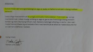IMG_20180713_102946418 / JYSKE BANKs SVINDEL / FRAUD - CALL / OPRÅB :-) Can the bank director CEO Anders Dam not understand We only want to talk with the bank, JYSKE BANK And find a solution, so we can get our life back We are talking about The last 10 years, the bank provisionally has deceived us. The Danish bank took 10 years from us. :-) Please talk to us #AndersChristianDam Rather than continue deceive us With a false interest rate swap, for a loan that has not never existed We write, and write, and write, while the bank continues the very deliberate fraud which the entire Group Board is aware of. :-) :-) A case that is so inflamed, that not even the Danish press does dare comment on it. do you think that there is something about what we are writing about. Would you ask the bank management Jyske Bank Link to the bank further down Why they will not answer their customer And deliver a copy of the loan, 4.328.000 DKK as the bank claiming the customer has borrowed i Nykredit As the Danish Bank changes interest rates, for the last 10 years, Actually since January 1, 2009 - Now the customer discovered and informed the Jyske Bank Jyske 3-bold Bank May 2016 that there was no loan taken. We are talking about fraud for millions, against just one customer :-) :-) Where do you come into contact with a fraudster who just does not want to stop deceiving you Have tried for over 2 years. DO YOU HAVE A SUGGESTION :-) from www.banknyt.dk Startede i jyske bank Helsingør I.L Tvedes Vej 7. 3000 Helsingør Dagblad Godt hjulpet af jyske bank medlemmer eller ansatte på Vesterbro, Vesterbrogade 9. Men godt assisteret af jyske bank hoved kontor i Silkeborg Vestergade Hvor koncern ledelsen / bestyrelsen ved Anders Christian Dam nu hjælper til med at dette svindel fortsætter Jyske Banks advokater som lyver for retten Tilbød 2-11-2016 forligs møde Men med den agenda at ville lave en rente bytte på et andet lån, for at sløre svindlen. ------------ Journalist Press just ask Danish Bank Jyske b
