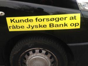 Et Opråb til Jyske Bank fra Facesbook