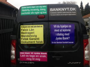IMG_2661 / JYSKE BANKs SVINDEL / FRAUD - CALL / OPRÅB :-) Can the bank director CEO Anders Dam not understand We only want to talk with the bank, JYSKE BANK And find a solution, so we can get our life back We are talking about The last 10 years, the bank provisionally has deceived us. The Danish bank took 10 years from us. :-) Please talk to us #AndersChristianDam Rather than continue deceive us With a false interest rate swap, for a loan that has not never existed We write, and write, and write, while the bank continues the very deliberate fraud which the entire Group Board is aware of. :-) :-) A case that is so inflamed, that not even the Danish press does dare comment on it. do you think that there is something about what we are writing about. Would you ask the bank management Jyske Bank Link to the bank further down Why they will not answer their customer And deliver a copy of the loan, 4.328.000 DKK as the bank claiming the customer has borrowed i Nykredit As the Danish Bank changes interest rates, for the last 10 years, Actually since January 1, 2009 - Now the customer discovered and informed the Jyske Bank Jyske 3-bold Bank May 2016 that there was no loan taken. We are talking about fraud for millions, against just one customer :-) :-) Where do you come into contact with a fraudster who just does not want to stop deceiving you Have tried for over 2 years. DO YOU HAVE A SUGGESTION :-) from www.banknyt.dk Startede i jyske bank Helsingør I.L Tvedes Vej 7. 3000 Helsingør Dagblad Godt hjulpet af jyske bank medlemmer eller ansatte på Vesterbro, Vesterbrogade 9. Men godt assisteret af jyske bank hoved kontor i Silkeborg Vestergade Hvor koncern ledelsen / bestyrelsen ved Anders Christian Dam nu hjælper til med at dette svindel fortsætter Jyske Banks advokater som lyver for retten Tilbød 2-11-2016 forligs møde Men med den agenda at ville lave en rente bytte på et andet lån, for at sløre svindlen. ------------ Journalist Press just ask Danish Bank Jyske bank why the ba