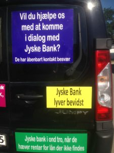 IMG_3098 / JYSKE BANKs SVINDEL / FRAUD - CALL / OPRÅB :-) Can the bank director CEO Anders Dam not understand We only want to talk with the bank, JYSKE BANK And find a solution, so we can get our life back We are talking about The last 10 years, the bank provisionally has deceived us. The Danish bank took 10 years from us. :-) Please talk to us #AndersChristianDam Rather than continue deceive us With a false interest rate swap, for a loan that has not never existed We write, and write, and write, while the bank continues the very deliberate fraud which the entire Group Board is aware of. :-) :-) A case that is so inflamed, that not even the Danish press does dare comment on it. do you think that there is something about what we are writing about. Would you ask the bank management Jyske Bank Link to the bank further down Why they will not answer their customer And deliver a copy of the loan, 4.328.000 DKK as the bank claiming the customer has borrowed i Nykredit As the Danish Bank changes interest rates, for the last 10 years, Actually since January 1, 2009 - Now the customer discovered and informed the Jyske Bank Jyske 3-bold Bank May 2016 that there was no loan taken. We are talking about fraud for millions, against just one customer :-) :-) Where do you come into contact with a fraudster who just does not want to stop deceiving you Have tried for over 2 years. DO YOU HAVE A SUGGESTION :-) from www.banknyt.dk Startede i jyske bank Helsingør I.L Tvedes Vej 7. 3000 Helsingør Dagblad Godt hjulpet af jyske bank medlemmer eller ansatte på Vesterbro, Vesterbrogade 9. Men godt assisteret af jyske bank hoved kontor i Silkeborg Vestergade Hvor koncern ledelsen / bestyrelsen ved Anders Christian Dam nu hjælper til med at dette svindel fortsætter Jyske Banks advokater som lyver for retten Tilbød 2-11-2016 forligs møde Men med den agenda at ville lave en rente bytte på et andet lån, for at sløre svindlen. ------------ Journalist Press just ask Danish Bank Jyske bank why the ba