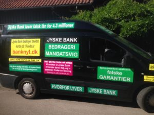 IMG_3103 / JYSKE BANKs SVINDEL / FRAUD - CALL / OPRÅB :-) Can the bank director CEO Anders Dam not understand We only want to talk with the bank, JYSKE BANK And find a solution, so we can get our life back We are talking about The last 10 years, the bank provisionally has deceived us. The Danish bank took 10 years from us. :-) Please talk to us #AndersChristianDam Rather than continue deceive us With a false interest rate swap, for a loan that has not never existed We write, and write, and write, while the bank continues the very deliberate fraud which the entire Group Board is aware of. :-) :-) A case that is so inflamed, that not even the Danish press does dare comment on it. do you think that there is something about what we are writing about. Would you ask the bank management Jyske Bank Link to the bank further down Why they will not answer their customer And deliver a copy of the loan, 4.328.000 DKK as the bank claiming the customer has borrowed i Nykredit As the Danish Bank changes interest rates, for the last 10 years, Actually since January 1, 2009 - Now the customer discovered and informed the Jyske Bank Jyske 3-bold Bank May 2016 that there was no loan taken. We are talking about fraud for millions, against just one customer :-) :-) Where do you come into contact with a fraudster who just does not want to stop deceiving you Have tried for over 2 years. DO YOU HAVE A SUGGESTION :-) from www.banknyt.dk Startede i jyske bank Helsingør I.L Tvedes Vej 7. 3000 Helsingør Dagblad Godt hjulpet af jyske bank medlemmer eller ansatte på Vesterbro, Vesterbrogade 9. Men godt assisteret af jyske bank hoved kontor i Silkeborg Vestergade Hvor koncern ledelsen / bestyrelsen ved Anders Christian Dam nu hjælper til med at dette svindel fortsætter Jyske Banks advokater som lyver for retten Tilbød 2-11-2016 forligs møde Men med den agenda at ville lave en rente bytte på et andet lån, for at sløre svindlen. ------------ Journalist Press just ask Danish Bank Jyske bank why the ba