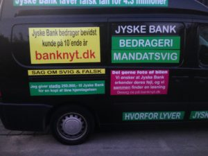IMG_3104 / JYSKE BANKs SVINDEL / FRAUD - CALL / OPRÅB :-) Can the bank director CEO Anders Dam not understand We only want to talk with the bank, JYSKE BANK And find a solution, so we can get our life back We are talking about The last 10 years, the bank provisionally has deceived us. The Danish bank took 10 years from us. :-) Please talk to us #AndersChristianDam Rather than continue deceive us With a false interest rate swap, for a loan that has not never existed We write, and write, and write, while the bank continues the very deliberate fraud which the entire Group Board is aware of. :-) :-) A case that is so inflamed, that not even the Danish press does dare comment on it. do you think that there is something about what we are writing about. Would you ask the bank management Jyske Bank Link to the bank further down Why they will not answer their customer And deliver a copy of the loan, 4.328.000 DKK as the bank claiming the customer has borrowed i Nykredit As the Danish Bank changes interest rates, for the last 10 years, Actually since January 1, 2009 - Now the customer discovered and informed the Jyske Bank Jyske 3-bold Bank May 2016 that there was no loan taken. We are talking about fraud for millions, against just one customer :-) :-) Where do you come into contact with a fraudster who just does not want to stop deceiving you Have tried for over 2 years. DO YOU HAVE A SUGGESTION :-) from www.banknyt.dk Startede i jyske bank Helsingør I.L Tvedes Vej 7. 3000 Helsingør Dagblad Godt hjulpet af jyske bank medlemmer eller ansatte på Vesterbro, Vesterbrogade 9. Men godt assisteret af jyske bank hoved kontor i Silkeborg Vestergade Hvor koncern ledelsen / bestyrelsen ved Anders Christian Dam nu hjælper til med at dette svindel fortsætter Jyske Banks advokater som lyver for retten Tilbød 2-11-2016 forligs møde Men med den agenda at ville lave en rente bytte på et andet lån, for at sløre svindlen. ------------ Journalist Press just ask Danish Bank Jyske bank why the ba