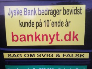 IMG_3106 / JYSKE BANKs SVINDEL / FRAUD - CALL / OPRÅB :-) Can the bank director CEO Anders Dam not understand We only want to talk with the bank, JYSKE BANK And find a solution, so we can get our life back We are talking about The last 10 years, the bank provisionally has deceived us. The Danish bank took 10 years from us. :-) Please talk to us #AndersChristianDam Rather than continue deceive us With a false interest rate swap, for a loan that has not never existed We write, and write, and write, while the bank continues the very deliberate fraud which the entire Group Board is aware of. :-) :-) A case that is so inflamed, that not even the Danish press does dare comment on it. do you think that there is something about what we are writing about. Would you ask the bank management Jyske Bank Link to the bank further down Why they will not answer their customer And deliver a copy of the loan, 4.328.000 DKK as the bank claiming the customer has borrowed i Nykredit As the Danish Bank changes interest rates, for the last 10 years, Actually since January 1, 2009 - Now the customer discovered and informed the Jyske Bank Jyske 3-bold Bank May 2016 that there was no loan taken. We are talking about fraud for millions, against just one customer :-) :-) Where do you come into contact with a fraudster who just does not want to stop deceiving you Have tried for over 2 years. DO YOU HAVE A SUGGESTION :-) from www.banknyt.dk Startede i jyske bank Helsingør I.L Tvedes Vej 7. 3000 Helsingør Dagblad Godt hjulpet af jyske bank medlemmer eller ansatte på Vesterbro, Vesterbrogade 9. Men godt assisteret af jyske bank hoved kontor i Silkeborg Vestergade Hvor koncern ledelsen / bestyrelsen ved Anders Christian Dam nu hjælper til med at dette svindel fortsætter Jyske Banks advokater som lyver for retten Tilbød 2-11-2016 forligs møde Men med den agenda at ville lave en rente bytte på et andet lån, for at sløre svindlen. ------------ Journalist Press just ask Danish Bank Jyske bank why the bank does not admit fraud And start to apologize all crimes. https://www.jyskebank.dk/kontakt/afdelingsinfo?departmentid=11660 :-) #Journalist #Press When the Danish banks deceive their customers a case of fraud in Danish banks against customers :-( :-( when the #danish #banks as #jyskebank are making fraud And the gang leader, controls the bank's fraud. :-( Anders Dam Bank's CEO refuses to quit. So it only shows how criminal the Danish jyske bank is. :-) Do not trust the #JyskeBank they are #lying constantly, when the bank cheats you The fraud that is #organized through by 3 departments, and many members of the organization JYSKE BANK :-( The Danish bank jyske bank is a criminal offense, Follow the case in Danish law BS 99-698/2015 :-) :-) Thanks to all of you we meet on the road. Which gives us your full support to the fight against the Danish fraud bank. JYSKE BANK :-) :-) Please ask the bank, jyske bank if we have raised a loan of DKK 4.328.000 In Danish bank nykredit. as the bank writes to their customer who is ill after a brain bleeding - As the bank is facing Danish courts and claim is a loan behind the interest rate swap The swsp Jyske Bank itself made 16-07-2008 https://facebook.com/JyskeBank.dk/photos/a.1468232419878888.1073741869.1045397795495688/1468234663211997/?type=3&source=54&ref=page_internal :-( contact the bank here https://www.jyskebank.dk/omjyskebank/organisation/koncernledergruppe - Also ask about date and evidence that the loan offer has been withdrawn in due time before expiry :-) :-) And ask for the prompt contact to Nykredit Denmark And ask why (new credit bank) Nykredit, first would answer the question, after nykredit received a subpoena, to speak true. - Even at a meeting Nykredit refused to sign anything. Not to provide evidence against Jyske Bank for fraud - But after several letters admit Nykredit Bank on writing - There is no loan of 4.328.000 kr https://facebook.com/JyskeBank.dk/photos/a.1051107938258007.1073741840.1045397795495688/1344678722234259/?type=3&source=54&ref=page_internal :-( :-( So nothing to change interest rates https://facebook.com/JyskeBank.dk/photos/a.1045554925479975.1073741831.1045397795495688/1045554998813301/?type=3&source=54&ref=page_internal Thus admit Nykredit Bank that their friends in Jyske Bank are making fraud against Danish customers :-( :-( :-( Today June 29th claims Jyske Bank that a loan of DKK 4.328.000 Has been reduced to DKK 2.927.634 and raised interest rates DKK 81.182 https://facebook.com/JyskeBank.dk/photos/a.1046306905404777.1073741835.1045397795495688/1755579747810819/?type=3&source=54 :-) :-) Group management jyske bank know, at least since May 2016 There is no loan of 4.328.000 DKK And that has never existed. And the ceo is conscious about the fraud against the bank's customer :-) Nevertheless, the bank continues the fraud But now with the Group's Board of Directors knowledge and approval :-) The bank will not respond to anything Do you want to investigate the fraud case as a journalist? :-( :-( Fraud that the bank jyske bank has committed, over the past 10 years. :-) :-) https://facebook.com/story.php?story_fbid=10217380674608165&id=1213101334&ref=bookmarks Will make it better, when we share timeline, with link to Appendix :-) www.banknyt.dk /-----------/ #ANDERSDAM I SPIDSEN AF DEN STORE DANSKE NOK SMÅ #KRIMINELLE #BANK #JYSKEBANK Godt hjulpet af #Les www.les.dk #LundElmerSandager #Advokater :-) #JYSKE BANK BLEV OPDAGET / TAGET I AT LAVE #MANDATSVIG #BEDRAGERI #DOKUMENTFALSK #UDNYTTELSE #SVIG #FALSK :-) Banken skriver i fundamentet at jyskebank er #TROVÆRDIG #HÆDERLIG #ÆRLIG DET ER DET VI SKAL OPKLARE I DENNE HER SAG. :-) Offer spørger flere gange om jyske bank har nogle kommentar eller rettelser til www.banknyt.dk og opslag Jyske bank svare slet ikke :-) :-) We are still talking about 10 years of fraud Follow the case in Danish court Denmark Viborg BS 99-698/2015 :-) :-) Link to the bank's management jyske bank ask them please If we have borrowed DKK 4.328.000 as offered on May 20, 2008 in Nykredit The bank still take interest on this alleged loan in the 10th year. and refuses to answer anything :-) :-) Funny enough for all that loan is not existing just ask jyske bank why the bank does not admit fraud And start to apologize all crimes. https://www.jyskebank.dk/kontakt/afdelingsinfo?departmentid=11660 #Bank #AnderChristianDam #Financial #News #Press #Share #Pol #Recommendation #Sale #Firesale #AndersDam #JyskeBank #ATP #PFA #MortenUlrikGade #PhilipBaruch #LES #GF #BirgitBushThuesen #LundElmerSandager #Nykredit #MetteEgholmNielsen #Loan #Fraud #CasperDamOlsen #NicolaiHansen #gangcrimes #crimes :-) just ask jyske bank why the bank does not admit fraud And start to apologize all crimes. https://www.jyskebank.dk/kontakt/afdelingsinfo?departmentid=11660 #Koncernledelse #jyskebank #Koncernbestyrelsen #SvenBuhrkall #KurtBligaardPedersen #RinaAsmussen #PhilipBaruch #JensABorup #KeldNorup #ChristinaLykkeMunk #HaggaiKunisch #MarianneLillevang #Koncerndirektionen #AndersDam #LeifFLarsen #NielsErikJakobsen #PerSkovhus #PeterSchleidt / ,IMG_20180709_185159966