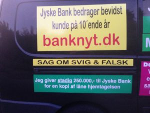 IMG_3111 / JYSKE BANKs SVINDEL / FRAUD - CALL / OPRÅB :-) Can the bank director CEO Anders Dam not understand We only want to talk with the bank, JYSKE BANK And find a solution, so we can get our life back We are talking about The last 10 years, the bank provisionally has deceived us. The Danish bank took 10 years from us. :-) Please talk to us #AndersChristianDam Rather than continue deceive us With a false interest rate swap, for a loan that has not never existed We write, and write, and write, while the bank continues the very deliberate fraud which the entire Group Board is aware of. :-) :-) A case that is so inflamed, that not even the Danish press does dare comment on it. do you think that there is something about what we are writing about. Would you ask the bank management Jyske Bank Link to the bank further down Why they will not answer their customer And deliver a copy of the loan, 4.328.000 DKK as the bank claiming the customer has borrowed i Nykredit As the Danish Bank changes interest rates, for the last 10 years, Actually since January 1, 2009 - Now the customer discovered and informed the Jyske Bank Jyske 3-bold Bank May 2016 that there was no loan taken. We are talking about fraud for millions, against just one customer :-) :-) Where do you come into contact with a fraudster who just does not want to stop deceiving you Have tried for over 2 years. DO YOU HAVE A SUGGESTION :-) from www.banknyt.dk Startede i jyske bank Helsingør I.L Tvedes Vej 7. 3000 Helsingør Dagblad Godt hjulpet af jyske bank medlemmer eller ansatte på Vesterbro, Vesterbrogade 9. Men godt assisteret af jyske bank hoved kontor i Silkeborg Vestergade Hvor koncern ledelsen / bestyrelsen ved Anders Christian Dam nu hjælper til med at dette svindel fortsætter Jyske Banks advokater som lyver for retten Tilbød 2-11-2016 forligs møde Men med den agenda at ville lave en rente bytte på et andet lån, for at sløre svindlen. ------------ Journalist Press just ask Danish Bank Jyske bank why the bank does not admit fraud And start to apologize all crimes. https://www.jyskebank.dk/kontakt/afdelingsinfo?departmentid=11660 :-) #Journalist #Press When the Danish banks deceive their customers a case of fraud in Danish banks against customers :-( :-( when the #danish #banks as #jyskebank are making fraud And the gang leader, controls the bank's fraud. :-( Anders Dam Bank's CEO refuses to quit. So it only shows how criminal the Danish jyske bank is. :-) Do not trust the #JyskeBank they are #lying constantly, when the bank cheats you The fraud that is #organized through by 3 departments, and many members of the organization JYSKE BANK :-( The Danish bank jyske bank is a criminal offense, Follow the case in Danish law BS 99-698/2015 :-) :-) Thanks to all of you we meet on the road. Which gives us your full support to the fight against the Danish fraud bank. JYSKE BANK :-) :-) Please ask the bank, jyske bank if we have raised a loan of DKK 4.328.000 In Danish bank nykredit. as the bank writes to their customer who is ill after a brain bleeding - As the bank is facing Danish courts and claim is a loan behind the interest rate swap The swsp Jyske Bank itself made 16-07-2008 https://facebook.com/JyskeBank.dk/photos/a.1468232419878888.1073741869.1045397795495688/1468234663211997/?type=3&source=54&ref=page_internal :-( contact the bank here https://www.jyskebank.dk/omjyskebank/organisation/koncernledergruppe - Also ask about date and evidence that the loan offer has been withdrawn in due time before expiry :-) :-) And ask for the prompt contact to Nykredit Denmark And ask why (new credit bank) Nykredit, first would answer the question, after nykredit received a subpoena, to speak true. - Even at a meeting Nykredit refused to sign anything. Not to provide evidence against Jyske Bank for fraud - But after several letters admit Nykredit Bank on writing - There is no loan of 4.328.000 kr https://facebook.com/JyskeBank.dk/photos/a.1051107938258007.1073741840.1045397795495688/1344678722234259/?type=3&source=54&ref=page_internal :-( :-( So nothing to change interest rates https://facebook.com/JyskeBank.dk/photos/a.1045554925479975.1073741831.1045397795495688/1045554998813301/?type=3&source=54&ref=page_internal Thus admit Nykredit Bank that their friends in Jyske Bank are making fraud against Danish customers :-( :-( :-( Today June 29th claims Jyske Bank that a loan of DKK 4.328.000 Has been reduced to DKK 2.927.634 and raised interest rates DKK 81.182 https://facebook.com/JyskeBank.dk/photos/a.1046306905404777.1073741835.1045397795495688/1755579747810819/?type=3&source=54 :-) :-) Group management jyske bank know, at least since May 2016 There is no loan of 4.328.000 DKK And that has never existed. And the ceo is conscious about the fraud against the bank's customer :-) Nevertheless, the bank continues the fraud But now with the Group's Board of Directors knowledge and approval :-) The bank will not respond to anything Do you want to investigate the fraud case as a journalist? :-( :-( Fraud that the bank jyske bank has committed, over the past 10 years. :-) :-) https://facebook.com/story.php?story_fbid=10217380674608165&id=1213101334&ref=bookmarks Will make it better, when we share timeline, with link to Appendix :-) www.banknyt.dk /-----------/ #ANDERSDAM I SPIDSEN AF DEN STORE DANSKE NOK SMÅ #KRIMINELLE #BANK #JYSKEBANK Godt hjulpet af #Les www.les.dk #LundElmerSandager #Advokater :-) #JYSKE BANK BLEV OPDAGET / TAGET I AT LAVE #MANDATSVIG #BEDRAGERI #DOKUMENTFALSK #UDNYTTELSE #SVIG #FALSK :-) Banken skriver i fundamentet at jyskebank er #TROVÆRDIG #HÆDERLIG #ÆRLIG DET ER DET VI SKAL OPKLARE I DENNE HER SAG. :-) Offer spørger flere gange om jyske bank har nogle kommentar eller rettelser til www.banknyt.dk og opslag Jyske bank svare slet ikke :-) :-) We are still talking about 10 years of fraud Follow the case in Danish court Denmark Viborg BS 99-698/2015 :-) :-) Link to the bank's management jyske bank ask them please If we have borrowed DKK 4.328.000 as offered on May 20, 2008 in Nykredit The bank still take interest on this alleged loan in the 10th year. and refuses to answer anything :-) :-) Funny enough for all that loan is not existing just ask jyske bank why the bank does not admit fraud And start to apologize all crimes. https://www.jyskebank.dk/kontakt/afdelingsinfo?departmentid=11660 #Bank #AnderChristianDam #Financial #News #Press #Share #Pol #Recommendation #Sale #Firesale #AndersDam #JyskeBank #ATP #PFA #MortenUlrikGade #PhilipBaruch #LES #GF #BirgitBushThuesen #LundElmerSandager #Nykredit #MetteEgholmNielsen #Loan #Fraud #CasperDamOlsen #NicolaiHansen #gangcrimes #crimes :-) just ask jyske bank why the bank does not admit fraud And start to apologize all crimes. https://www.jyskebank.dk/kontakt/afdelingsinfo?departmentid=11660 #Koncernledelse #jyskebank #Koncernbestyrelsen #SvenBuhrkall #KurtBligaardPedersen #RinaAsmussen #PhilipBaruch #JensABorup #KeldNorup #ChristinaLykkeMunk #HaggaiKunisch #MarianneLillevang #Koncerndirektionen #AndersDam #LeifFLarsen #NielsErikJakobsen #PerSkovhus #PeterSchleidt / ,IMG_20180709_185159966