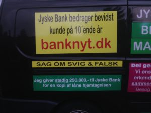 IMG_3250 / JYSKE BANKs SVINDEL / FRAUD - CALL / OPRÅB :-) Can the bank director CEO Anders Dam not understand We only want to talk with the bank, JYSKE BANK And find a solution, so we can get our life back We are talking about The last 10 years, the bank provisionally has deceived us. The Danish bank took 10 years from us. :-) Please talk to us #AndersChristianDam Rather than continue deceive us With a false interest rate swap, for a loan that has not never existed We write, and write, and write, while the bank continues the very deliberate fraud which the entire Group Board is aware of. :-) :-) A case that is so inflamed, that not even the Danish press does dare comment on it. do you think that there is something about what we are writing about. Would you ask the bank management Jyske Bank Link to the bank further down Why they will not answer their customer And deliver a copy of the loan, 4.328.000 DKK as the bank claiming the customer has borrowed i Nykredit As the Danish Bank changes interest rates, for the last 10 years, Actually since January 1, 2009 - Now the customer discovered and informed the Jyske Bank Jyske 3-bold Bank May 2016 that there was no loan taken. We are talking about fraud for millions, against just one customer :-) :-) Where do you come into contact with a fraudster who just does not want to stop deceiving you Have tried for over 2 years. DO YOU HAVE A SUGGESTION :-) from www.banknyt.dk Startede i jyske bank Helsingør I.L Tvedes Vej 7. 3000 Helsingør Dagblad Godt hjulpet af jyske bank medlemmer eller ansatte på Vesterbro, Vesterbrogade 9. Men godt assisteret af jyske bank hoved kontor i Silkeborg Vestergade Hvor koncern ledelsen / bestyrelsen ved Anders Christian Dam nu hjælper til med at dette svindel fortsætter Jyske Banks advokater som lyver for retten Tilbød 2-11-2016 forligs møde Men med den agenda at ville lave en rente bytte på et andet lån, for at sløre svindlen. ------------ Journalist Press just ask Danish Bank Jyske bank why the bank does not admit fraud And start to apologize all crimes. https://www.jyskebank.dk/kontakt/afdelingsinfo?departmentid=11660 :-) #Journalist #Press When the Danish banks deceive their customers a case of fraud in Danish banks against customers :-( :-( when the #danish #banks as #jyskebank are making fraud And the gang leader, controls the bank's fraud. :-( Anders Dam Bank's CEO refuses to quit. So it only shows how criminal the Danish jyske bank is. :-) Do not trust the #JyskeBank they are #lying constantly, when the bank cheats you The fraud that is #organized through by 3 departments, and many members of the organization JYSKE BANK :-( The Danish bank jyske bank is a criminal offense, Follow the case in Danish law BS 99-698/2015 :-) :-) Thanks to all of you we meet on the road. Which gives us your full support to the fight against the Danish fraud bank. JYSKE BANK :-) :-) Please ask the bank, jyske bank if we have raised a loan of DKK 4.328.000 In Danish bank nykredit. as the bank writes to their customer who is ill after a brain bleeding - As the bank is facing Danish courts and claim is a loan behind the interest rate swap The swsp Jyske Bank itself made 16-07-2008 https://facebook.com/JyskeBank.dk/photos/a.1468232419878888.1073741869.1045397795495688/1468234663211997/?type=3&source=54&ref=page_internal :-( contact the bank here https://www.jyskebank.dk/omjyskebank/organisation/koncernledergruppe - Also ask about date and evidence that the loan offer has been withdrawn in due time before expiry :-) :-) And ask for the prompt contact to Nykredit Denmark And ask why (new credit bank) Nykredit, first would answer the question, after nykredit received a subpoena, to speak true. - Even at a meeting Nykredit refused to sign anything. Not to provide evidence against Jyske Bank for fraud - But after several letters admit Nykredit Bank on writing - There is no loan of 4.328.000 kr https://facebook.com/JyskeBank.dk/photos/a.1051107938258007.1073741840.1045397795495688/1344678722234259/?type=3&source=54&ref=page_internal :-( :-( So nothing to change interest rates https://facebook.com/JyskeBank.dk/photos/a.1045554925479975.1073741831.1045397795495688/1045554998813301/?type=3&source=54&ref=page_internal Thus admit Nykredit Bank that their friends in Jyske Bank are making fraud against Danish customers :-( :-( :-( Today June 29th claims Jyske Bank that a loan of DKK 4.328.000 Has been reduced to DKK 2.927.634 and raised interest rates DKK 81.182 https://facebook.com/JyskeBank.dk/photos/a.1046306905404777.1073741835.1045397795495688/1755579747810819/?type=3&source=54 :-) :-) Group management jyske bank know, at least since May 2016 There is no loan of 4.328.000 DKK And that has never existed. And the ceo is conscious about the fraud against the bank's customer :-) Nevertheless, the bank continues the fraud But now with the Group's Board of Directors knowledge and approval :-) The bank will not respond to anything Do you want to investigate the fraud case as a journalist? :-( :-( Fraud that the bank jyske bank has committed, over the past 10 years. :-) :-) https://facebook.com/story.php?story_fbid=10217380674608165&id=1213101334&ref=bookmarks Will make it better, when we share timeline, with link to Appendix :-) www.banknyt.dk /-----------/ #ANDERSDAM I SPIDSEN AF DEN STORE DANSKE NOK SMÅ #KRIMINELLE #BANK #JYSKEBANK Godt hjulpet af #Les www.les.dk #LundElmerSandager #Advokater :-) #JYSKE BANK BLEV OPDAGET / TAGET I AT LAVE #MANDATSVIG #BEDRAGERI #DOKUMENTFALSK #UDNYTTELSE #SVIG #FALSK :-) Banken skriver i fundamentet at jyskebank er #TROVÆRDIG #HÆDERLIG #ÆRLIG DET ER DET VI SKAL OPKLARE I DENNE HER SAG. :-) Offer spørger flere gange om jyske bank har nogle kommentar eller rettelser til www.banknyt.dk og opslag Jyske bank svare slet ikke :-) :-) We are still talking about 10 years of fraud Follow the case in Danish court Denmark Viborg BS 99-698/2015 :-) :-) Link to the bank's management jyske bank ask them please If we have borrowed DKK 4.328.000 as offered on May 20, 2008 in Nykredit The bank still take interest on this alleged loan in the 10th year. and refuses to answer anything :-) :-) Funny enough for all that loan is not existing just ask jyske bank why the bank does not admit fraud And start to apologize all crimes. https://www.jyskebank.dk/kontakt/afdelingsinfo?departmentid=11660 #Bank #AnderChristianDam #Financial #News #Press #Share #Pol #Recommendation #Sale #Firesale #AndersDam #JyskeBank #ATP #PFA #MortenUlrikGade #PhilipBaruch #LES #GF #BirgitBushThuesen #LundElmerSandager #Nykredit #MetteEgholmNielsen #Loan #Fraud #CasperDamOlsen #NicolaiHansen #gangcrimes #crimes :-) just ask jyske bank why the bank does not admit fraud And start to apologize all crimes. https://www.jyskebank.dk/kontakt/afdelingsinfo?departmentid=11660 #Koncernledelse #jyskebank #Koncernbestyrelsen #SvenBuhrkall #KurtBligaardPedersen #RinaAsmussen #PhilipBaruch #JensABorup #KeldNorup #ChristinaLykkeMunk #HaggaiKunisch #MarianneLillevang #Koncerndirektionen #AndersDam #LeifFLarsen #NielsErikJakobsen #PerSkovhus #PeterSchleidt / ,IMG_20180709_185159966