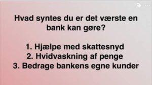 Jyske Banks hjælp med skattesnyd Jyske Banks hvidvaskning Jyske Banks BEDRAGRI Hvem Ka Jyske bank Ka snyde hvor andre stopper op