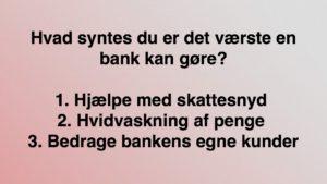 Jyske Banks hjælp med skattesnyd Jyske Banks hvidvaskning Jyske Banks BEDRAGRI Hvem Ka Jyske bank Ka