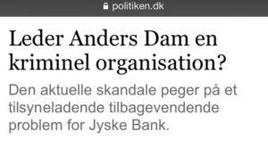 Leder Anders Dam en kriminel organisation Spørger bare