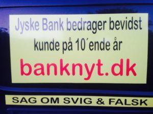Jyske bank bedrager kunder
