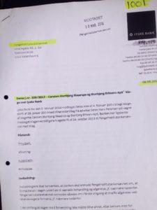 Den jyske leder Anders-Dam bestemmer med ledelsen, at svindel banken jyske bank siden maj 2016 skulle fortsætte med at bedrage bankens kunder og nægte dialog En #Jysk #gangster bank tvinger kunde til at betale #renter af et #lån der ikke findes Selv om jyske bank har løjet for kunden om at lånet var optaget og løjet at det var omlagt Mener kunde at været udsat for groft SVIG i jyske bank Kunden retter derfor mange henvendelser I perioden april 2016 til Jyske Banks advokater, bestyrelse, DIRIKTION samt Skriver DIRÆKTE til Anders Christian Dam ANDERS DAM NÆGTER SELV AT SVARE PÅ OPLYSNINGER OM SVINDEL Derfor fortsætter kunder stadig disse henvendelser, og nu offenlige opråb, for at jyske bank skal stoppe svindlen / bedrageriet CEO ANDERS DAM svare første gang 20-09-2018 at han ikke vil svare, de mange henvendelser, der er sendt til DIRIKTIONEN - Kunde ønsker bare at få banken til at stoppe bedrageri, og indrømme at jyske bank siden 30-12-2008 har udsat kunde for bedrageri frem til nu oktober 2018 :-( Eller at bevise jyske bank ikke er en bedragerisk svindel bank som kunden i retten vil forklare Samtidens med henvisning til de mange beviser imod jyske bank for bedrageri i sagsmaterialet :-) Kunderne siger om jyske bank koncernen Og oplyser hvad CEO Anders Dam selv har lovet, som her april 2016. Anders Dam lover pressen 5. April 2016 i forbindelse med Jyske Banks anbefaling og hjælp til skattesnyd, At jyske bank fremover ville drive en hæderlig BANKVIRKSOMHED Tænker at Anders henviser til Jyske Banks fundament og vedtægter, hvori der står banken skal handle redelig og overholde loven. Sjovt nok siger DIRIKTION DIRIKTION et imens jyske bank fortsætter bedrageri :-( Hvem støtter og dækker over Jyske Banks bedrageri imod erhvervs kunde Kunden som i årevis har forsøgt at få udlevert alle bilag jyske bank måtte have. :-( :-( Der er ikke tivl om at jyske bank LYVER, og det er helt bevidst. Se hvad vi har af forhold imod for svindel på dette link, som er en del af det jyske ban