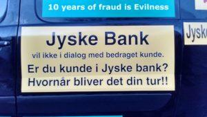 Hvorfor nægter jyske bank de kunder banken bedrager dialog - Der er da noget galt i Jyske Banks fundament