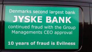 Jyske Banks bestyrelse bag fortsat bedrageri.