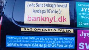 Anders Dam vis at banken ikke lyver og bedrager Eller indrøm bedrageri